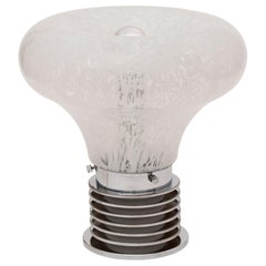 Midcentury Murano Glass Light Bulb Lamp