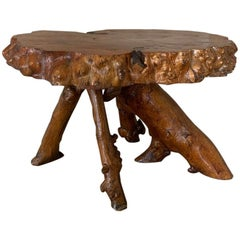 Midcentury Root Table