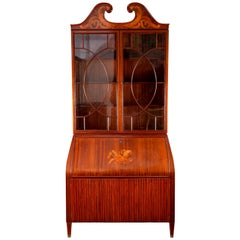 Midcentury Trumeau Bookcases or Cabinets by Paolo Buffa, 1940