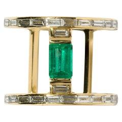 Milamore Fine Jewelry 0.8 Carat Emerald Ring