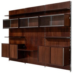 MIM Roma Wall Unit in Rosewood