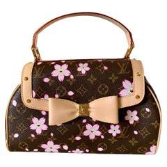 Mint Louis Vuitton Takashi Murakami Limited Edition Retro Cherry Blossom Purse