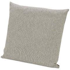 Missoni Home Reserva Cushion in Textured Black & White Cotton