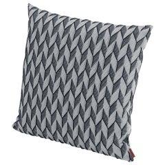 MissoniHome Sestriere Cushion with 3-D Black & White Chevron Print