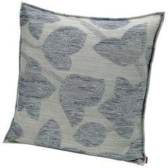 MissoniHome Wachau Yarn-Dyed Fabric Cushion with Flower Motif