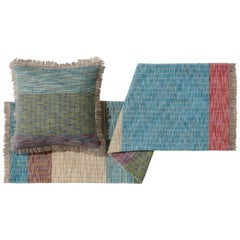 MissoniHome Waldo Reversible Wool Jacquard Throw with Large Stripes