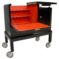 Mobile Art Deco Bar Cart, 1940s