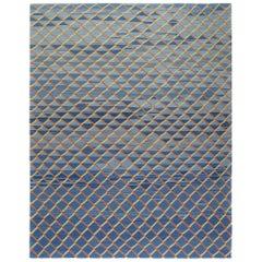 Modern Decorative Persian Mazandaran Tribal Flat-Weave Rug