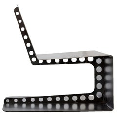 Modern Industrial Style Lounge Chair Meccano