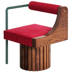 "Modern ""Normative-Chair"" with Upholstery"