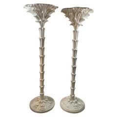 Modern Serge Roche Style Torchère Floor Lamps