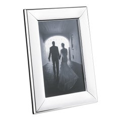 Modern Small Picture Frame in Stainless Steel Mirror Finish by Georg Jensen