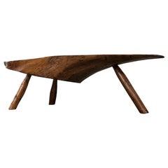 Modernist Live Edge Cocktail Table