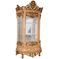 Monumental French Vitrine in the Style of the 18th Century