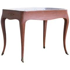 Most Unusual 18th Century Swedish Rococo Tea Table