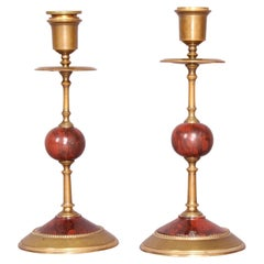 N III Pair of Candlestick