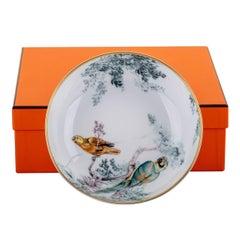 New in Box Hermes Equateur Porcelain Bowl