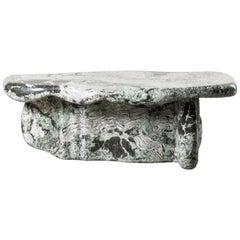 Nilufar Gallery Guise 1 Scagliola Coffee Table by Odd Matter
