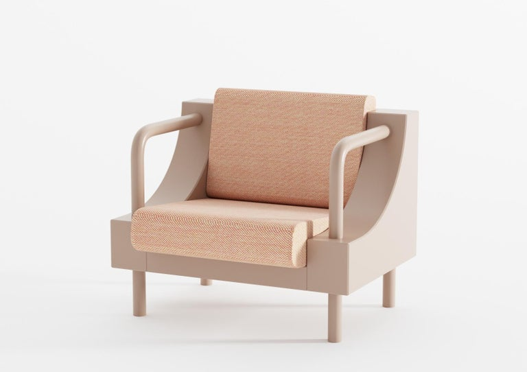The armchair was created as a part of the
