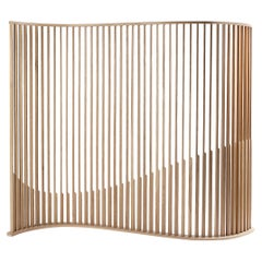 Oak Wood Room Divider from Collection Laws of Motion by Joel Escalona