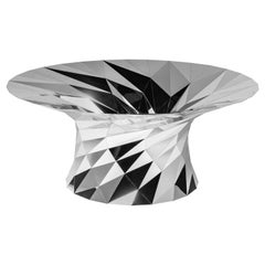 Object #MT-T1-S-L Mirror Polished Stainless Steel Table by Zhoujie Zhang