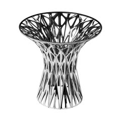 Object #MT-T3-F-S Mirror Polished Stainless Table by Zhoujie Zhang