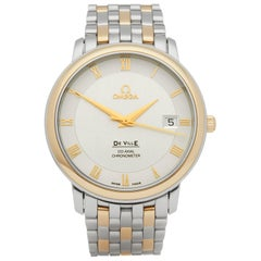 Omega De Ville Stainless Steel and Yellow Gold 4374.31.00