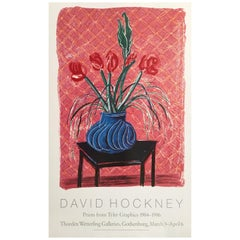 Original Vintage Poster David Hockney, 'Prints From Tyler Graphics, 1984-1986'