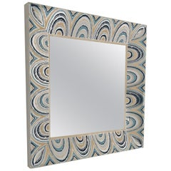 Oversized Pair of American Mirrors from the 1970s
