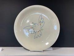 Picasso Peace Dove ceramic plate