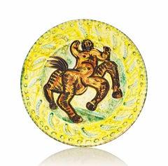 Pablo Picasso Madoura Ceramic Plate - Centaur Ramié 339