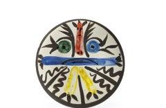 Pablo Picasso Madoura Ceramic Plate - Personnages no. 28' Ramié 463
