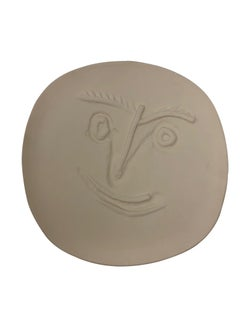 Pablo Picasso Madoura Ceramic Plate - Visage, Ramié 449