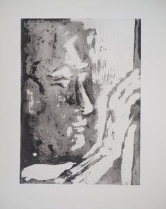 Sculptor - Original Aquatint Etching (Bloch #1192)