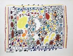 The Picador - Original Lithograph in Colors - Mourlot - Bloch 1017