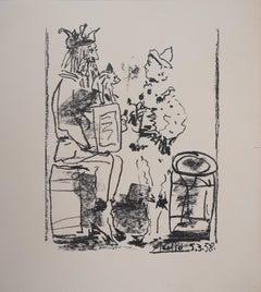 The Tumblers - Original lithograph (Bloch #855 / Mourlot #285)