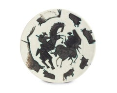 Pablo Picasso Madoura Ceramic Plate - 'Corrida,' Ramié 182