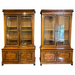 Pair of Biedermeier Cabinets, Austria, 19th Century