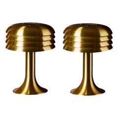 Pair of BN 26 Table Lamps by Hans Agne Jakobsson