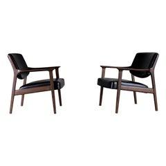 Pair of Danish Easy Chairs, 1960s