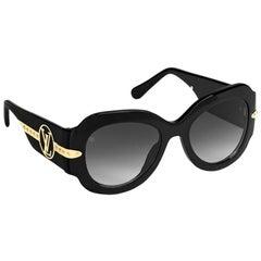 Pair of Louis Vuitton Paris Texas Sunglasses Authentic With Receipt Case Box Etc