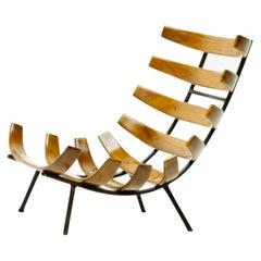 "Pair of Martin Eisler and Carlo Hauner ""Costela"" Lounge Chair, Brazil, 1950s"
