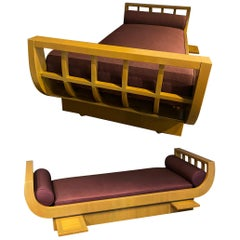 Pair of Modern Upholstered Daybeds, James Mont