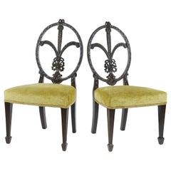 Pair of Sheraton Style Children's Chairs