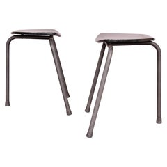 Pair of Tripode Stools
