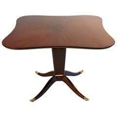 Paolo Buffa Italian, Midcentury, Rosewood Centre Table