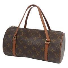 PapillonPM  Papillon26  Womens  Boston bag M51366 Leather