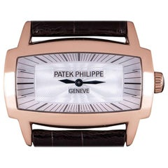 Patek Philippe Gondolo Gemma 18 Karat Rose Gold White Mother of Pearl Dial 4980R