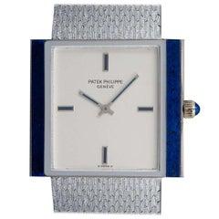 Patek Philippe Lapis Lazuli Set Gondolo Silver Dial B&P 3578G-001