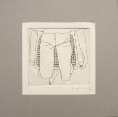 """Reflections at 29"" -  Kimono series Lithograph"